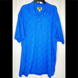 Foundry Royal Blue Polo 2XLT